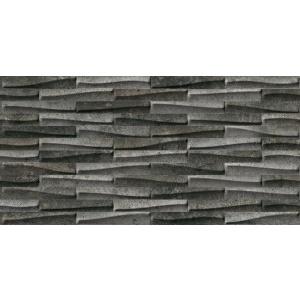 PIEMME CASTLESTONE (00153) MURETTO BLACK 30x60 cm NAT/RET GRES PADLÓLAP