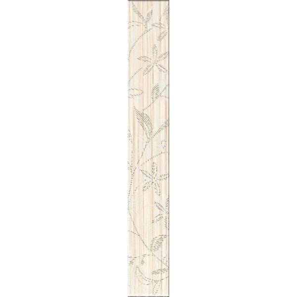 Cersanit TANAKA CREAM 5x35 cm dekor csempe (OD305-007)