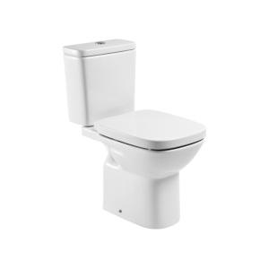 Roca Debba Monoblokkos WC alsó rész, mélyöblítésű, hátsó kifolyású tartály és ülőke nélkül (A342997000)