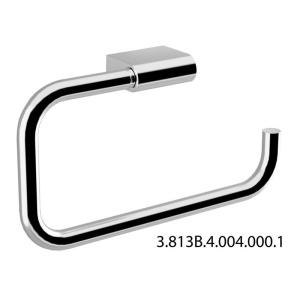 JIKA PURE törölközőtartó gyűrű szögletes 22,5x12,5 cm króm (3813B4-2)