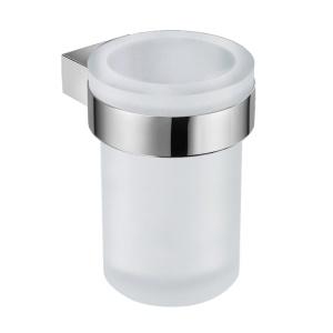JIKA PURE fali pohártartó üveg pohárral (3823B1)