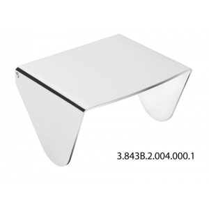 JIKA PURE WC papírtartó fedéllel króm (3843B2-1)