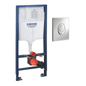 GROHE Rapid SL WC tartály + Skate króm nyomólap (38763001)