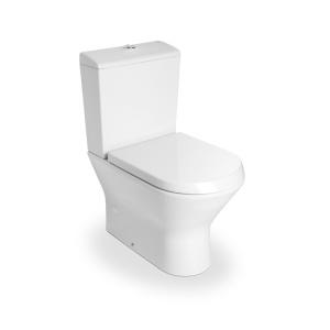 Roca Nexo Falhoz illeszkedő, Kompakt monoblokkos WC, mélyöblítésű, Vario Lefolyós, tartály és ülőke nélkül (A342642000)
