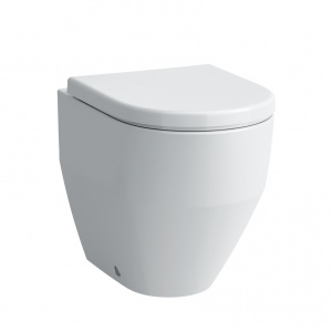 Laufen Pro álló WC, mélyöblítésű, Vario lefolyó, hátul falhoz illeszkedik ÜLŐKE NÉLKÜL