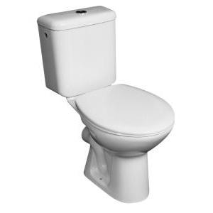 Jika Zeta monoblokkos WC, mélyöblítésű, hátsó kifolyású, felső bekötésű tartállyal, ülőke nélkül (825396)