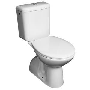 Jika Zeta monoblokkos WC, mélyöblítésű, alsó kifolyású, felsó bekötésű tartállyal, ülőke nélkül (825397)