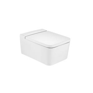 Roca Inspira Square mélyöblítésű, fali WC, ülőke nélkül (A346537000)