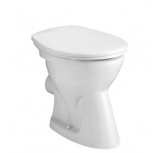 Alföldi Bázis mélyöblítésű álló WC, Hátsó kifolyású (4031 00 01)