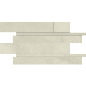 Ergon PLAYGROUND NEW YORK SAND MOSAICO LISTELLO RESIN 30x60 cm NAT/RET