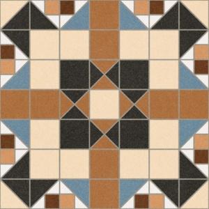 Vives BARNET MERTON MARRON 31,6x31,6 cm