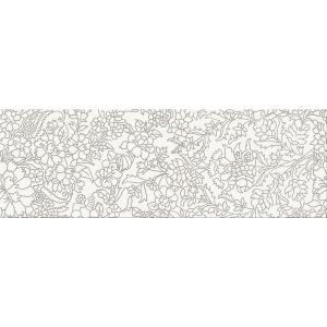 Opoczno Pret A Porter WHITE INSERTO FLOWER 75x25cm (OD334-012)