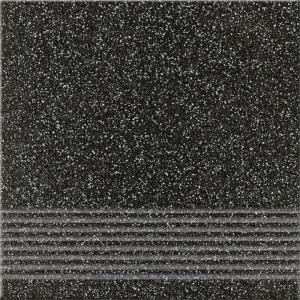 Opoczno MILTON GRAPHITE Lépcsőlap 29,7x29,7 cm