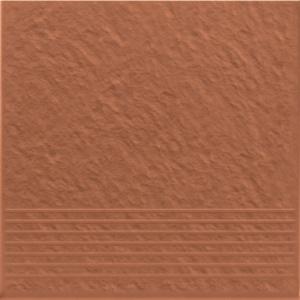 Opoczno SIMPLE RED Lépcsőlap 3D 30 X 30
