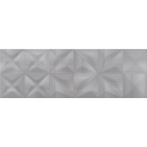 OPOCZNO DELICATE LINES GRAPHITE GLOSSY STRUCTURE 25X75 (OP432-002-1)