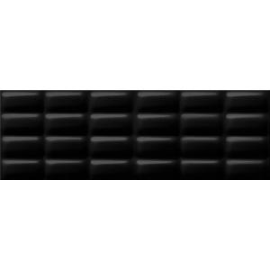 Opoczno Pret A Porter BLACK GLOSSY PILLOW 75x25cm (OP684-002-1)