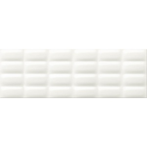 Opoczno WHITE GLOSSY PILLOW 75x25cm (OP684-004-1)