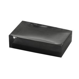 Sapho RAINBOW szappantartó, fekete (RA1114)