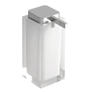 Sapho RAINBOW szappanadagoló, álló, fehér (RA8002)