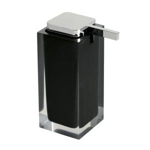Sapho RAINBOW szappanadagoló, álló, fekete (RA8014)
