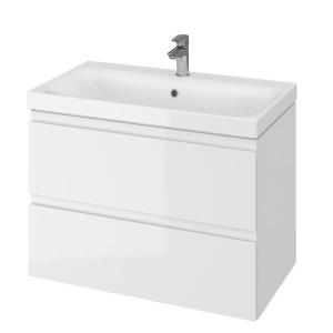 Cersanit Moduo Mosdó Szekrény 80 Fehér (mosdó nélkül)