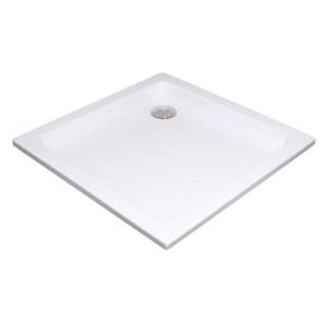 Ravak ZUHANYTÁLCA ANGELA 90 LA Fehér lábra való szereléshez (univerzális tartóláb) vagy a padlózatba történő besüllyesztéshez