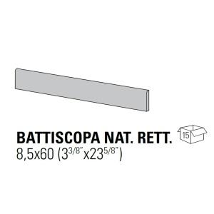 Ergon ELEGANCE IVORY lábazati elem  8,5x60 cm NAT/RET
