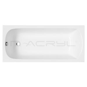 M-Acryl Mira akril kád 170X70 + Láb