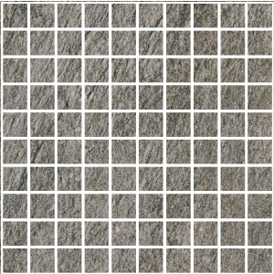 Emil Ceramica ANTHOLOGY STONE DARK GREY MOSAICO INDOOR 30x30 cm NAT GRES padlólap (fagyálló)