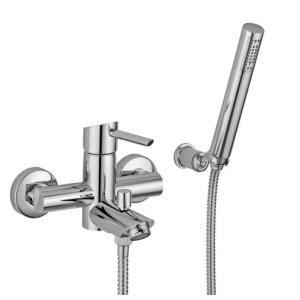 Bugnatese Smart (2102CR) króm kádcsaptelep Fix tartós zuhanyszettel