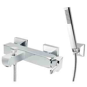 Bugnatese Vintage (9802CR) króm kádcsaptelep Fix tartós zuhanyszettel