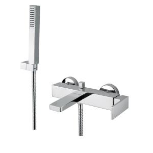 BUGNATESE TETRIS (9102CR) Kádcsaptelep zuhanyszettel