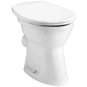 Alföldi Bázis laposöblítésű álló WC, hátsó kifolyású (4030 00 01)