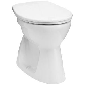 Alföldi Bázis laposöblítésű álló WC, alsó kifolyású (4032 00 01)