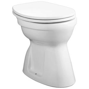 Alföldi Bázis Laposöblítésű álló WC, álsó kifolyású (4037 00 01)