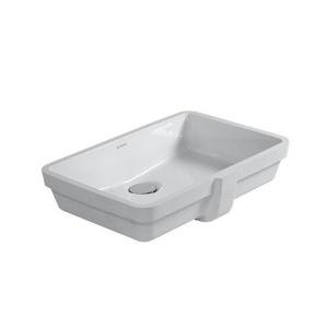 Duravit Vero alulról beépíthető mosdó, csaplyuk nélkül (0330480000)