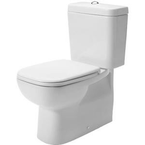 Duravit D Code monoblokkos wc, mélyöblítésű, vario kifolyású, TARTÁLY NÉLKÜL (21180900002)
