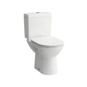 Laufen Pro monoblokkos álló wc, mélyölítésű, hátsó kifolyású, TARTÁLY ÉS ÜLŐKE NÉLKÜL (8.2495.6.000.000.1)