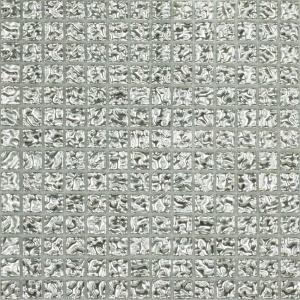 Melange mozaik csempe 20 Ezüst 41 (20x20x4mm)