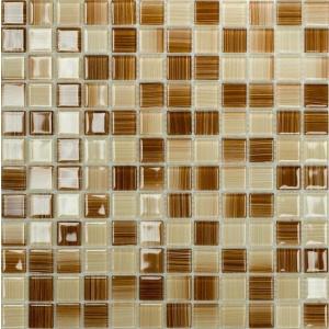 Melange mozaik csempe Caramel (25x25x4mm)
