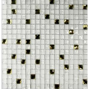 Melange mozaik csempe SUN Diamond (15x15x8mm)