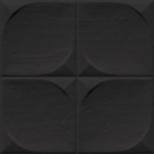 Vives Etnia Sindhi Negro 13x13 cm