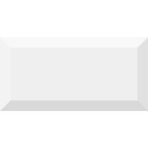Vives Mugat 10x20 cm Bianco fali csempe