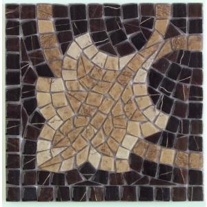 Vives ILIADA CANTONERA AFRODITA MARRON 21,7x21,7 cm
