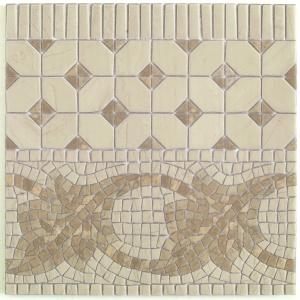 Vives ILIADA CENEFA MIDAS BLANCO 43,5x43,5 cm