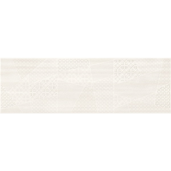 Ferano White Patchwork Inserto Satin 24X74