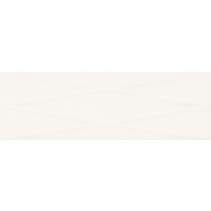 Gravity White Lines Structure Satin 24X74