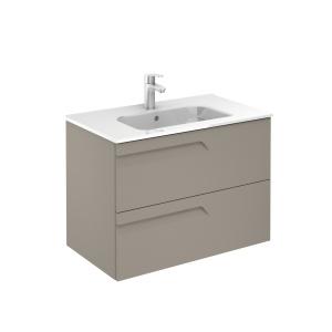 Vitale 80-As Fürdőszobabútor Fali, Smoky Matt Színben