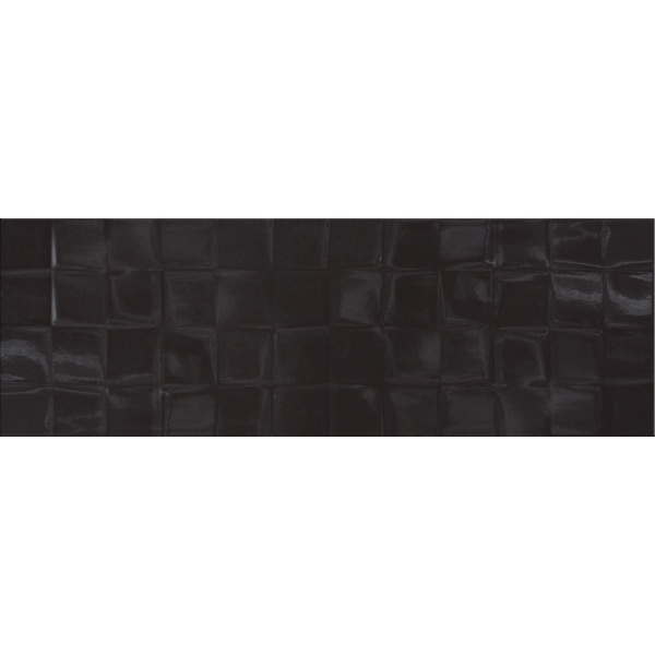 Black Glossy Structure Cubes 20X60