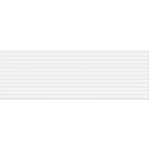 White Glossy Line Structure 20X60